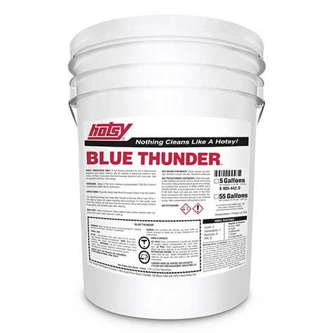 Hotsy blue thunder