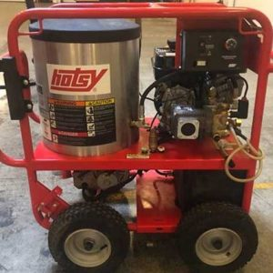 Hotsy 871SS Hot Water Gas Engine Machine w/100 ft Hose Reel –SO1693081